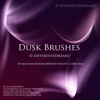 Dusk Brushes by differentxdreamz