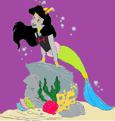 Feferi The Little Mermaid by chiyoama