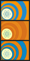 Atomic calling card by Squid-pro-Quo