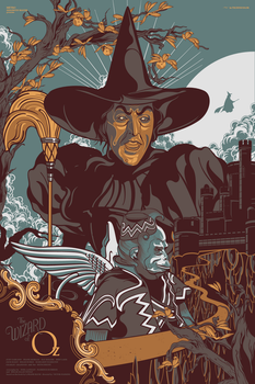 The Wizard Of Oz (Wicked witch v) by Aseo