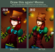 Draw this again - meme by Chickenese