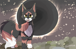 Sol- warrior cats fanart + redraw by Flamemuzzle