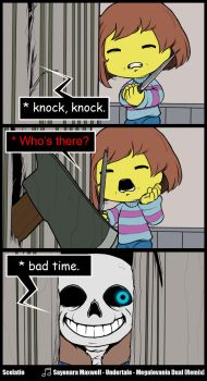 * do you wanna have a bad time? by Scelatio