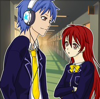 Erza And Jellal (School Days Page 1) by tulf42