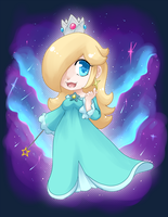 Chibi: Rosalina by TomoCreations