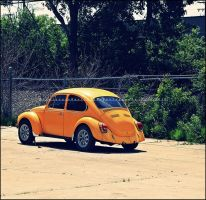 Old Orange Bug by GrotesqueDarling13