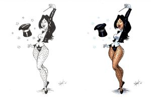 Zatanna by greasystreet