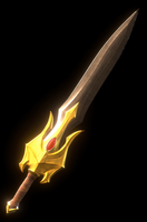 MOTU - DC Reforged She-Ra Sword GIF 2 by paulrich