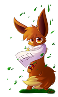 _Red_The_Eevee_ (Gift) by Reyna174