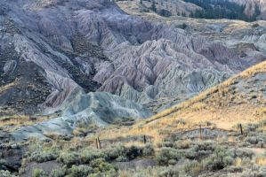 Coloured hills 1 - British Columbia by wildplaces