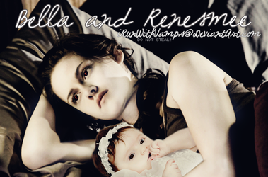 Isabella and Renesmee by iRunWithVamps