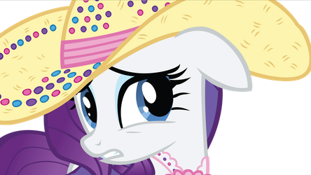 Sad Rarity Vector from Simple Ways by FluttershyElsa