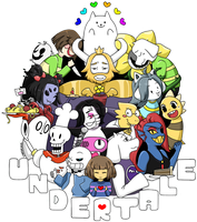 UNDERTALE by cardenus