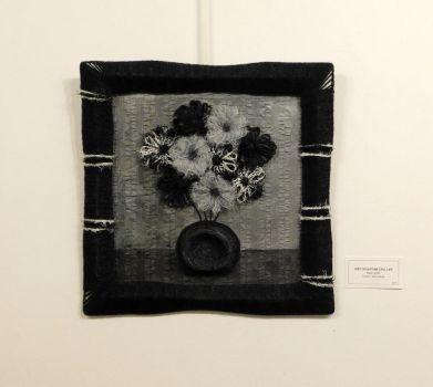 Soft Sculpture Still Life - Black and White by Kyle-Lefort