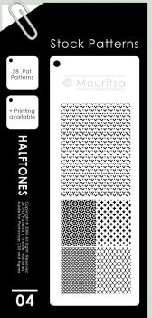 Pattern Pack - Halftones by MouritsaDA-Stock