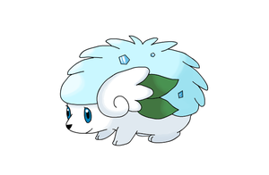 sheimi snow forme official art by Karrotcakes