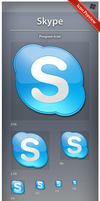 Icon Skype by ncrow