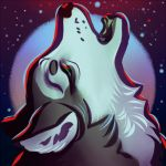 wolf Icon small by LilyOndine