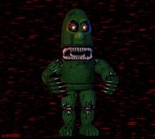 Nightmare Larry the Cucumber by jorjimodels
