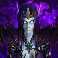 Void Elf Icon by NevanGoth