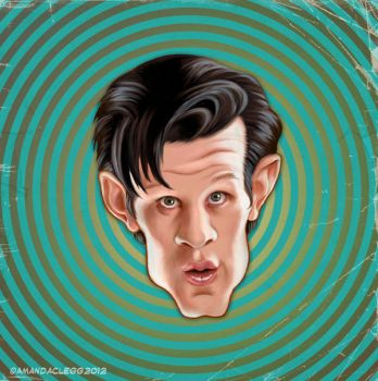 11th Doctor's Head 2 by enginemonkey