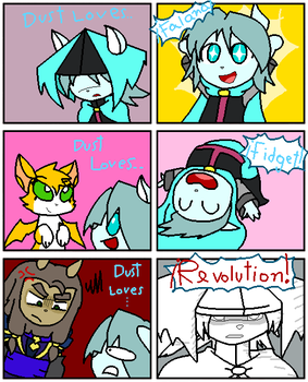 Dust: an Elysian Tail - Loves Revolution Meme by CuteXiora