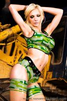 Military Girl by SusanWayland