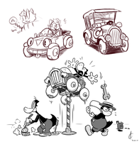 Cars, Toons, and Cartoon Cars by Atrox-C