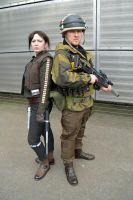 Jen Erso and Rebel Commando (1) by masimage