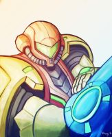 Samus - Colors by Rhunyc