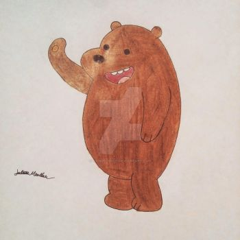 Grizz from We Bare Bears by yahoo201027