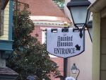 Haunted Mansion Entrance Sign2 by InvisibleCorpseGirl