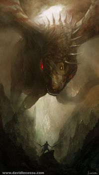 The Dragon by D--CO