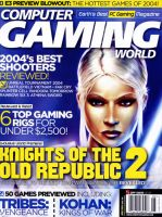 Computer Gaming World cover by Brenze