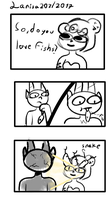 an a awful cuphead comic by larisa203