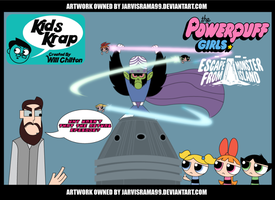 KIDS KRAP POWERPUFF GIRLS REVIEW TCARD by Jarvisrama99