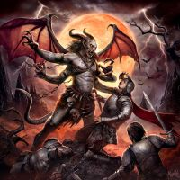 Demon of the night by DusanMarkovic