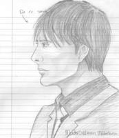 Mads Mikkelsen sketch by Countess-Nynke