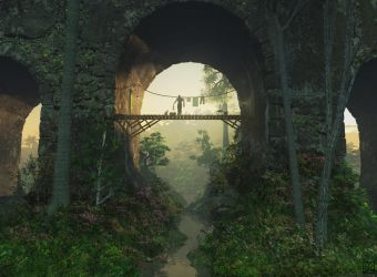 The Bridge Under the Bridge by curious3d