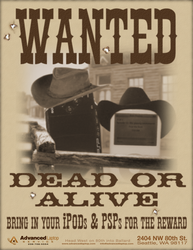 Wanted Dead or Alive by Dragavan