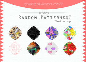 Random Patterns #7 by Waatt