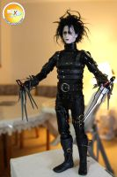 Edward Scissorhands - Custom Head Sculpt by xenoviper