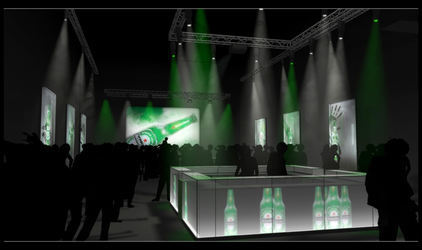 Event presentation illustration by E1design