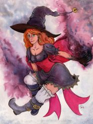 Magical Witch ! by sarya-atelier