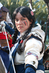 Wondercon 2014 | Fem!Connor Kenway by axelthemoogle