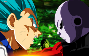 Vegeta vs Jiren by SaoDVD