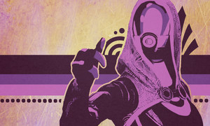 Mass Effect Wallpaper - Tali by OEmilyThePenguinO