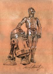 Robots Star Wars by VIGLED