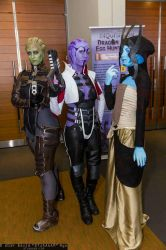 Asari of Pax East, 2014. by TifaIA