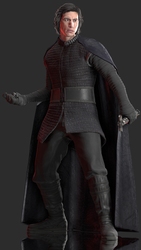 Kylo Ren (The Last Jedi) by Yare-Yare-Dong